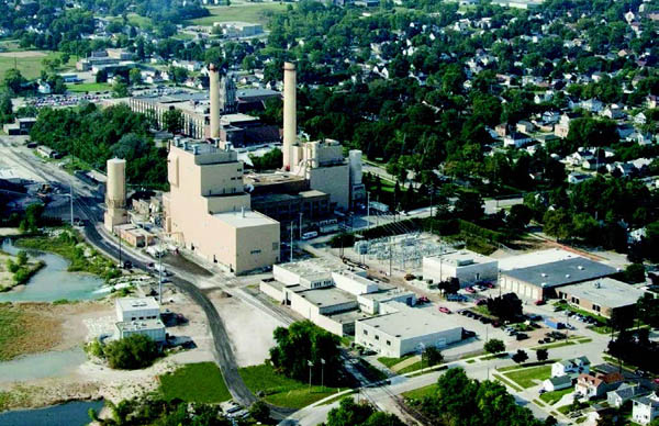 64-megawatt Unit 9 addition to the Power Plant
