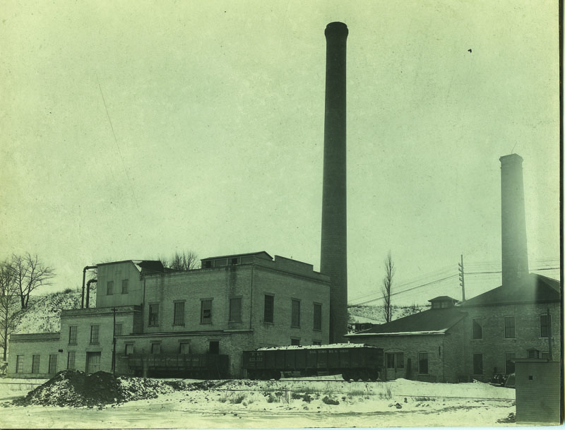 Electric plant and waterworks